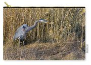 Heron In The Grass Carry-all Pouch