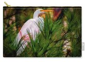 Heron In The Pines Carry-all Pouch