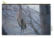 Heron Looking Out Carry-all Pouch
