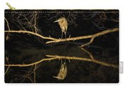 Heron Mirror On Maryland Canal Carry-all Pouch