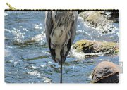 Heron On One Leg Carry-all Pouch