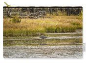 Heron On Snake River No. 2 - Grand Tetons Carry-all Pouch