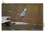 Heron On The Creek Carry-all Pouch