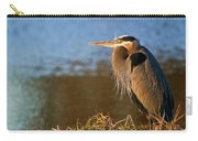 Heron On The Lake Carry-all Pouch