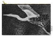 Heron On The Move Up Close Carry-all Pouch