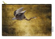 Heron Texturized Carry-all Pouch