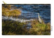 Heron Watchful Eye Carry-all Pouch