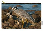 Heron With Crab Carry-all Pouch