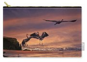 Herons At Sunset Carry-all Pouch