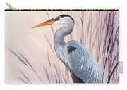 Herons Driftwood Home Carry-all Pouch