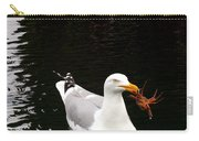 Herring Gull With Crab Carry-all Pouch