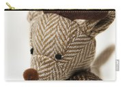 Herringbone Reindeer Carry-all Pouch by Anne Gilbert