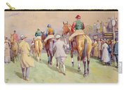 Hethersett Steeplechases Carry-all Pouch by John Atkinson
