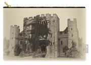 Hever Castle Yellow Plate Carry-all Pouch by Chris Thaxter