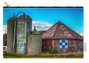 Hexagon Quilt Barn Carry-all Pouch