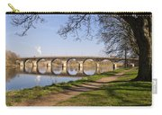Hexham Bridge And Riverside Path Carry-all Pouch