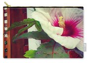 Hibiscus Flower In Bloom Carry-all Pouch