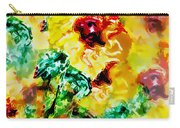 Hibiscus Impressionist Carry-all Pouch