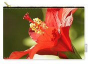 Hibiscus Loving Sun Carry-all Pouch