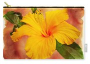 Hibiscus - Mango Sunshine Carry-all Pouch