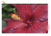 Hibiscus Night Fire 2 Of 2 Carry-all Pouch
