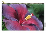 Hibiscus Night Fire Carry-all Pouch