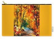 Hidden Emotions - Palette Knife Oil Painting On Canvas By Leonid Afremov Carry-all Pouch