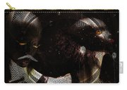 Hidden Faces-featured In Newbies And Visions Of The Night Carry-all Pouch