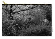 Hidden Garden In Black And White Carry-all Pouch