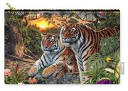 Hidden Images - Tigers Carry-all Pouch by Steve Read