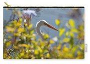 Hiding Egret Carry-all Pouch