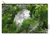 Hiding Hydrangea Carry-all Pouch