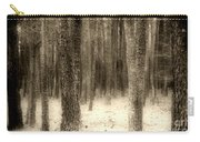 Hiding In The Trees By Diana Sainz Carry-all Pouch