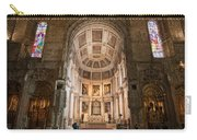 High Altar In Church Of Jeronimos Monastery Carry-all Pouch