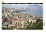 High Angle View Of A City, Naples Carry-all Pouch