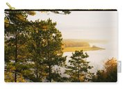 High Angle View Of A River, Ausable Carry-all Pouch