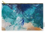 High As A Mountain- Contemporary Abstract Painting Carry-all Pouch