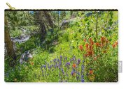 High Country Wildflowers Carry-all Pouch