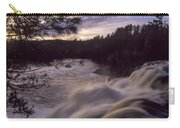 High Falls At Dusk Carry-all Pouch