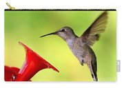 High Flying Hummingbird Carry-all Pouch