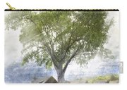 High In The Clouds Carry-all Pouch by Debra and Dave Vanderlaan