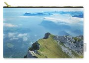 High On Nature At Mt. Pilatus Carry-all Pouch