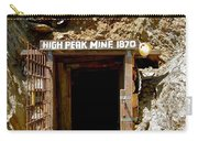 High Peak Mine Carry-all Pouch by Denise Mazzocco