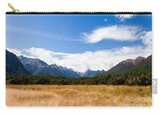 High Peaks Of Eglinton Valley In Fjordland Np Nz Carry-all Pouch