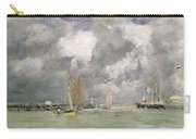 High Tide At Trouville Carry-all Pouch