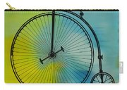 High Wheel Bicycle Carry-all Pouch