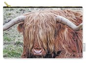 Highlands Coo Carry-all Pouch