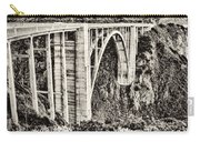 Highway 1 Carry-all Pouch by Heather Applegate