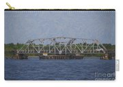 Highway 41 Swing Bridge Over The Wando River Carry-all Pouch