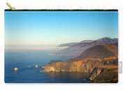 Highway One Bixby Bridge Carry-all Pouch by Barbara Snyder